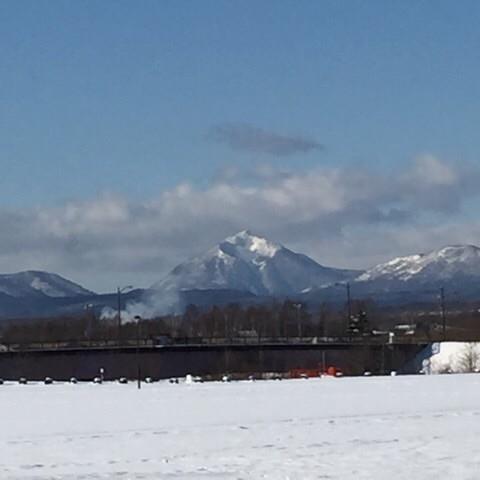 山と雪と類♪