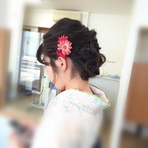 祝ご卒業!袴の着付けとセット