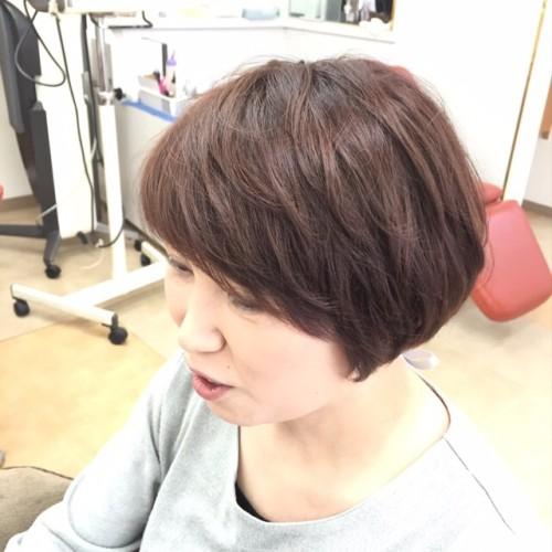 カラー+ACCとカットで髪のメンテナンス!