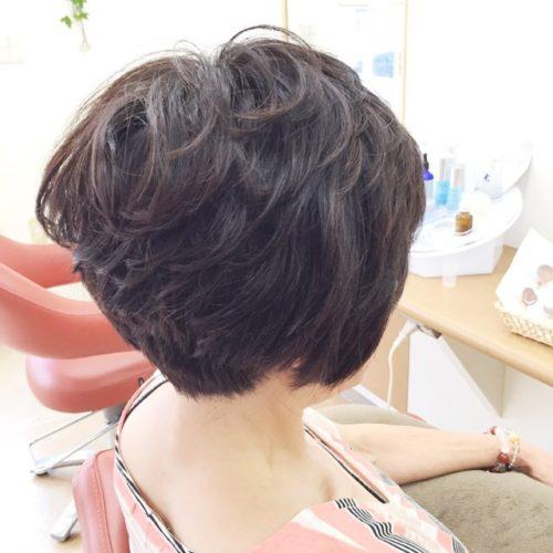 髪も心も軽くなったー!\(^o^)/
