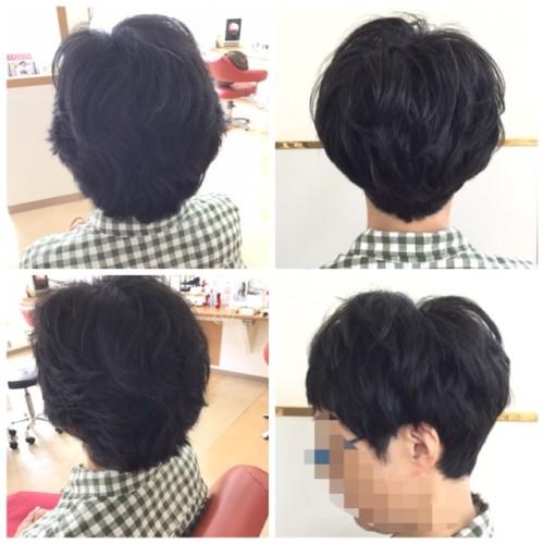 癖毛さんのショートスタイルとヘッドスパ