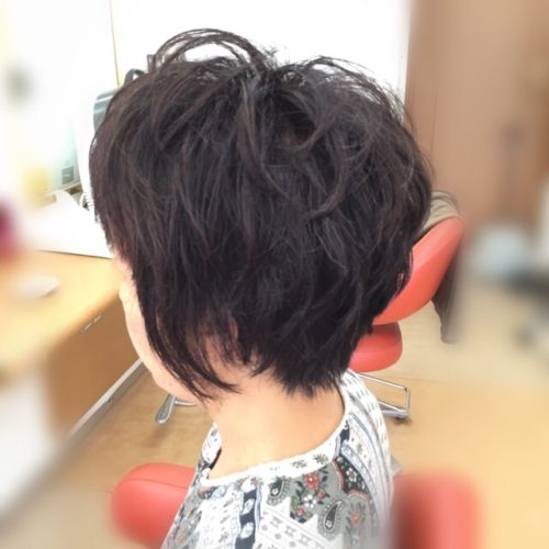 オーダーは栗原はるみさんの髪型!