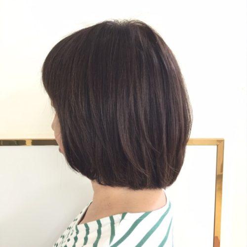 髪が艶、しっとり、サラサラの三拍子