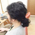超!健康毛でパーマがかかり難い髪にパーマを!