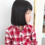 小学生のヘアドネーション!
