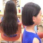 8月最初のヘアドネーション
