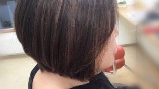 縮毛矯正+ACCでしなやかに艶髪