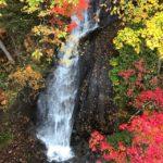 紅葉🍁の滝とダムと温泉とカレー