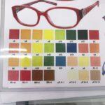 パーソナルカラーして眼鏡のフレームをチョイス