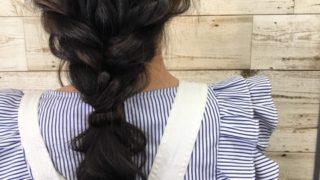 髪をアレンジして素敵可愛いを作るレッスンを受けました!美容室ブーケの福島です。