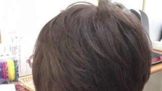 頭の後ろの髪がふんわりとしてるのが好き♡