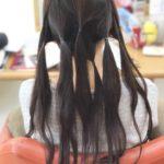髪を短くしたいからヘアドネーションに協力します。