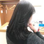 ぽわぽわしてる毛と膨らみを収めるトリートメントがいいんでないかい!?(≧∇≦)