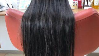 髪が跳ねやすくなっても切りたい31センチ