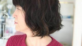 毎月ヘナで染めてる髪にはかからずらいパーマ