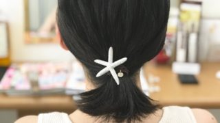 癖毛で多毛の髪を限界まで軽く薄く!