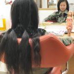 生まれて初めてのカットはヘアドネーション!