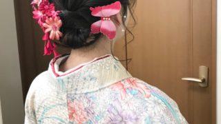 大学生、卒業式は無くなったけど袴の着付けをしました!