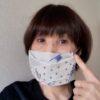 ハンカチで縫わずに出来るマスク!