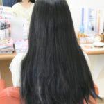 ヘアドネーションの為に伸ばしてた髪を切りに来てくれました!(≧∇≦)