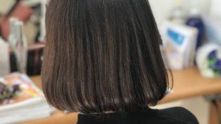 ヘアカラーをしてても艶々な髪の秘訣!