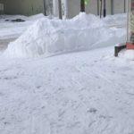 雪で駐車場が停めづらくなってますm(_ _)m