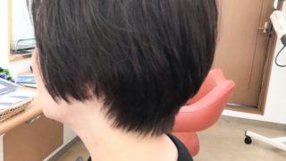 ラベンダーアッシュのヘアカラー